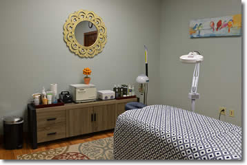 Enjoy a relaxing facial and massage at The Tangerine Salon on Superior Avenue in Sheboygan.