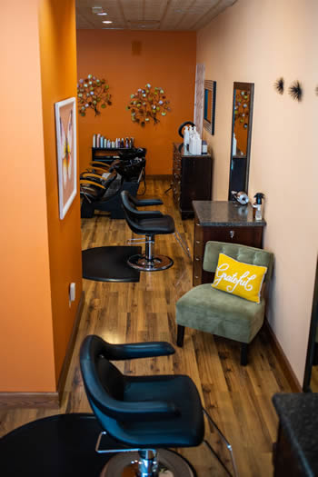 Tangerine Salon has the artistic expertise for your hair, nails and makeup needs for weddings and special events.